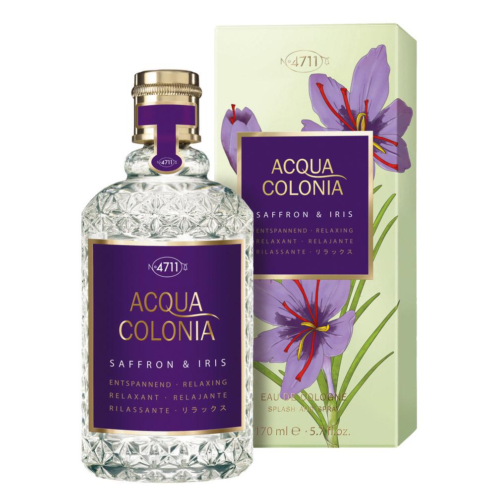 Acqua Colonia Saffron & Iris Eau De Cologne – 170ml