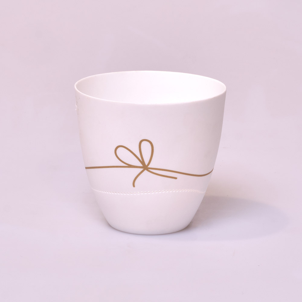 Classic Tealight With Bow
